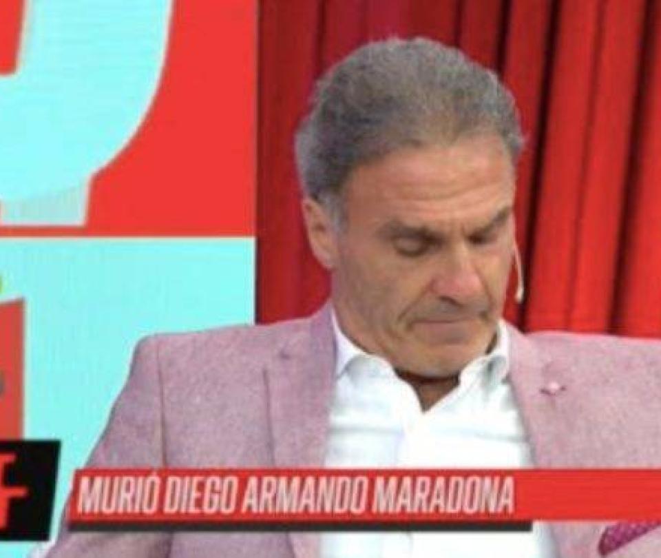 El drama de Ruggeri al enterarse de la muerte de Maradona