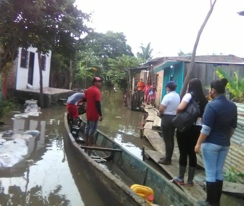 Calamidad pública en El Banco, Magdalena, por primeras inundaciones