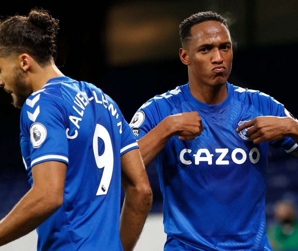 James y Mina lideran la clasificación del Everton en la FA Cup