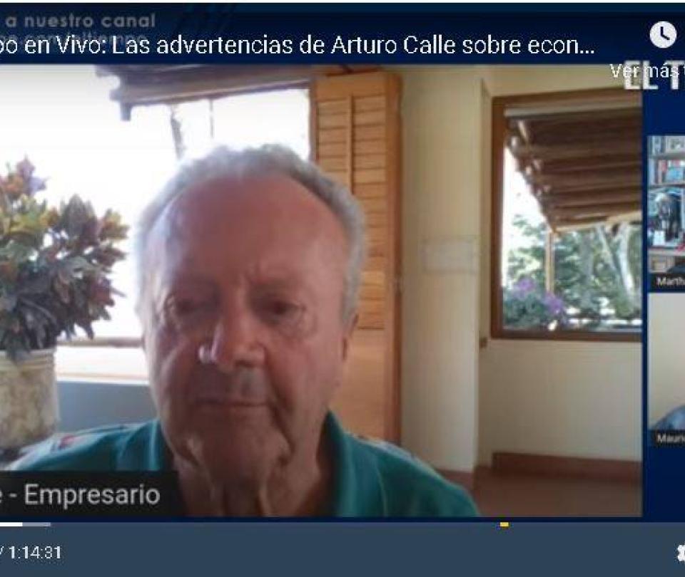 'Todos los días las normas cambian': la queja de Arturo Calle