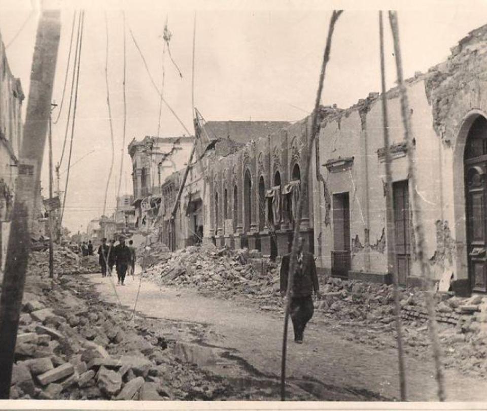 Temblor en Argentina sacude la misma zona del mortal terremoto de 1944