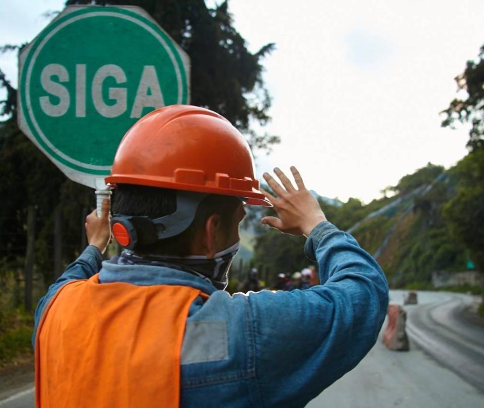 Desde las 5 a.m del jueves vuelve a operar la vía Cajamarca-Calarcá