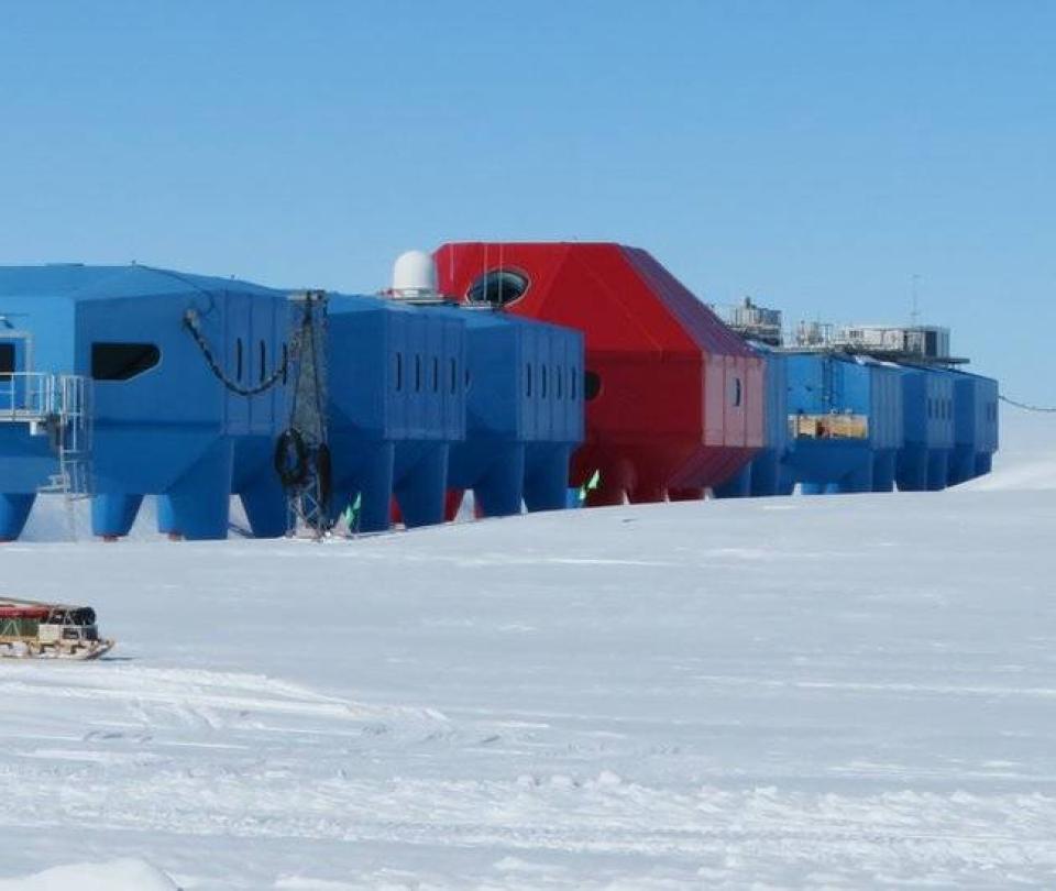 El témpano del tamaño de Londres que se desprendió de la Antártido