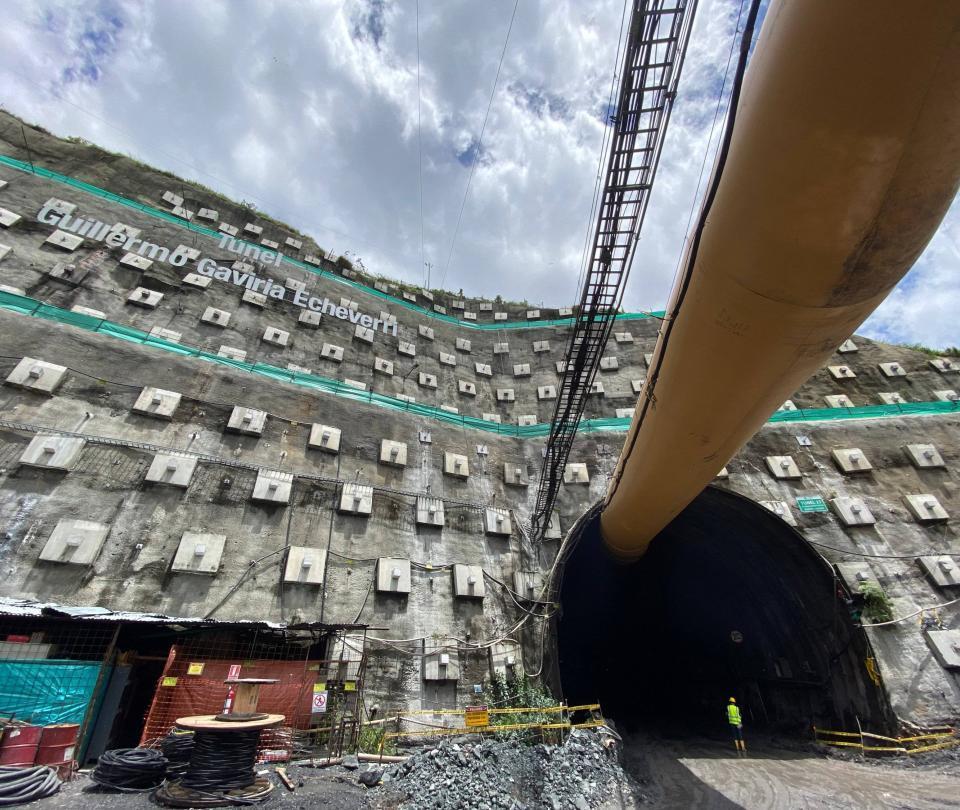 A 60 % llegó la excavación del Túnel del Toyo, el más largo del país