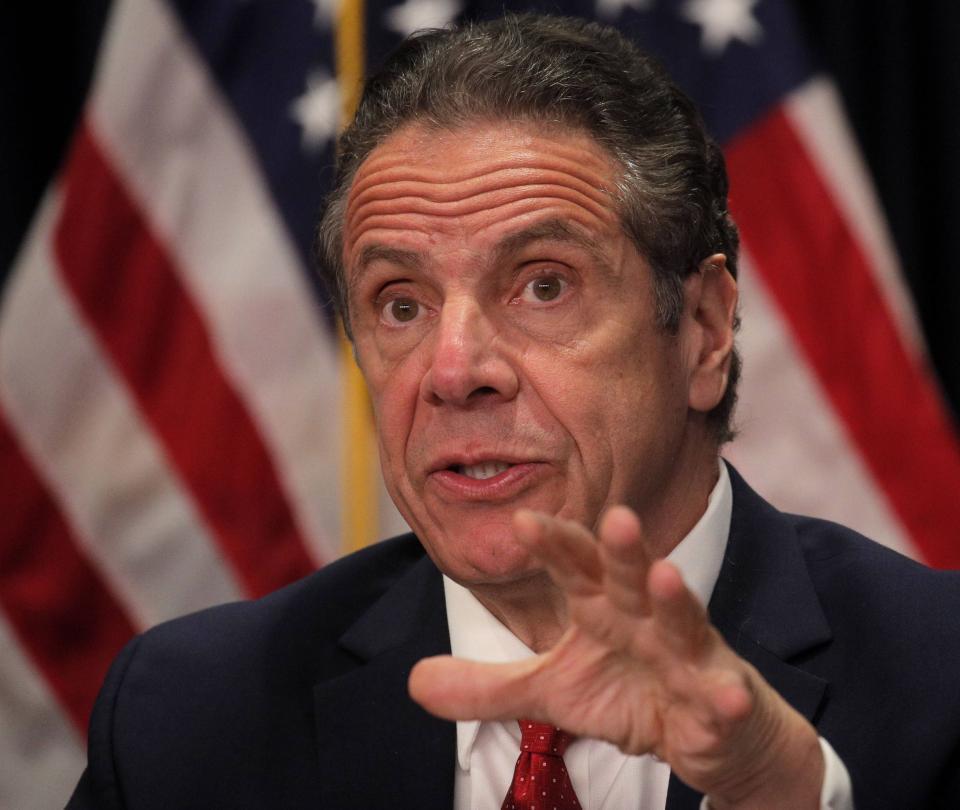 Gobernador de Nueva York 'acosó sexualmente a varias mujeres': Fiscalía