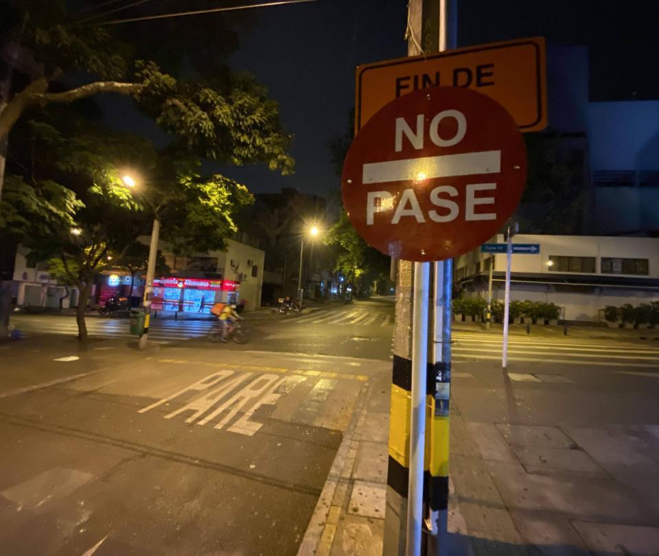 Extienden una semana más toque de queda en Medellín y Antioquia