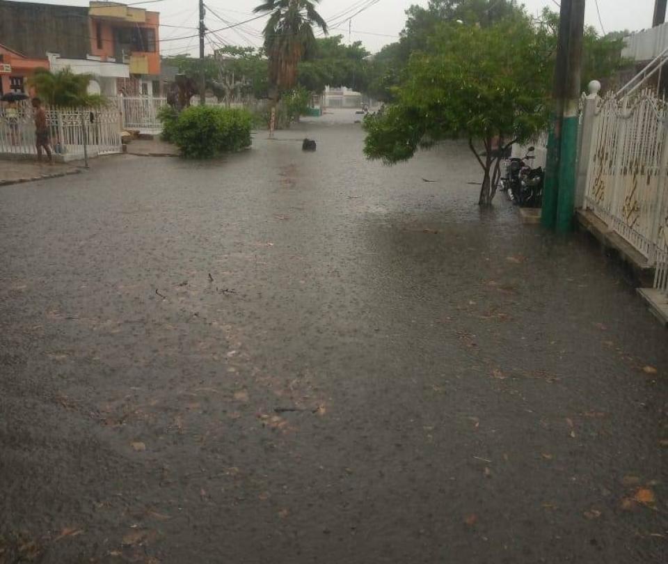 En Cartagena un joven murió luego de fuertes aguaceros