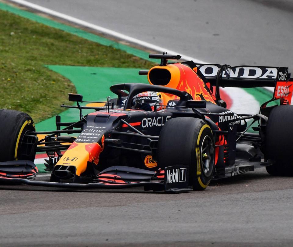 Verstappen saldrá último en el Gran Premio de Rusia