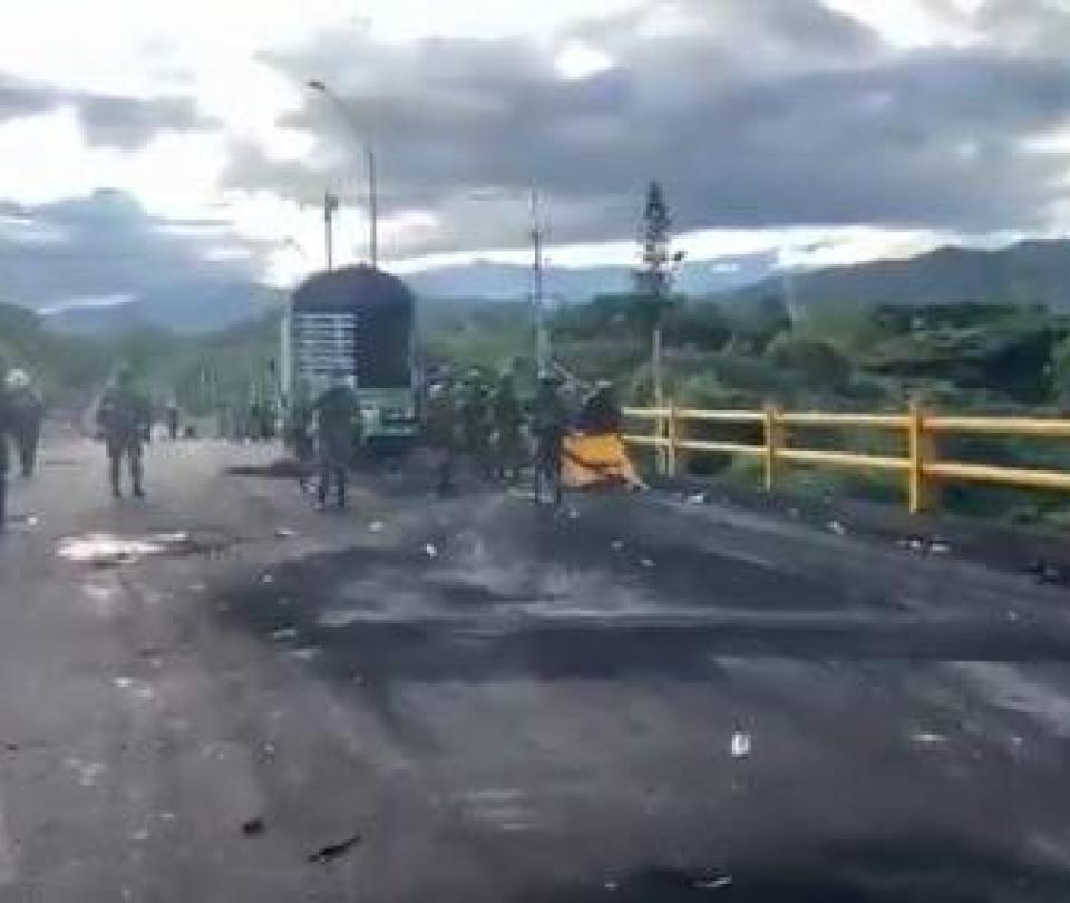 El tenso día que vivió el Valle del Cauca durante el paro nacional