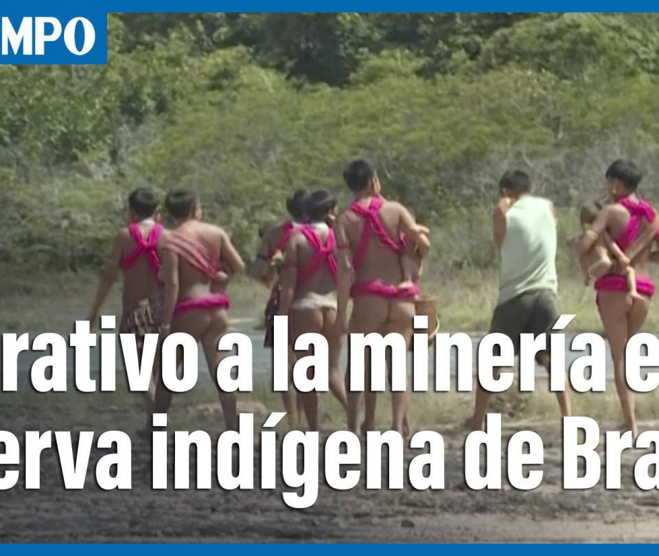 Bolsonaro autoriza despliegue policial contra minería en reserva indígena