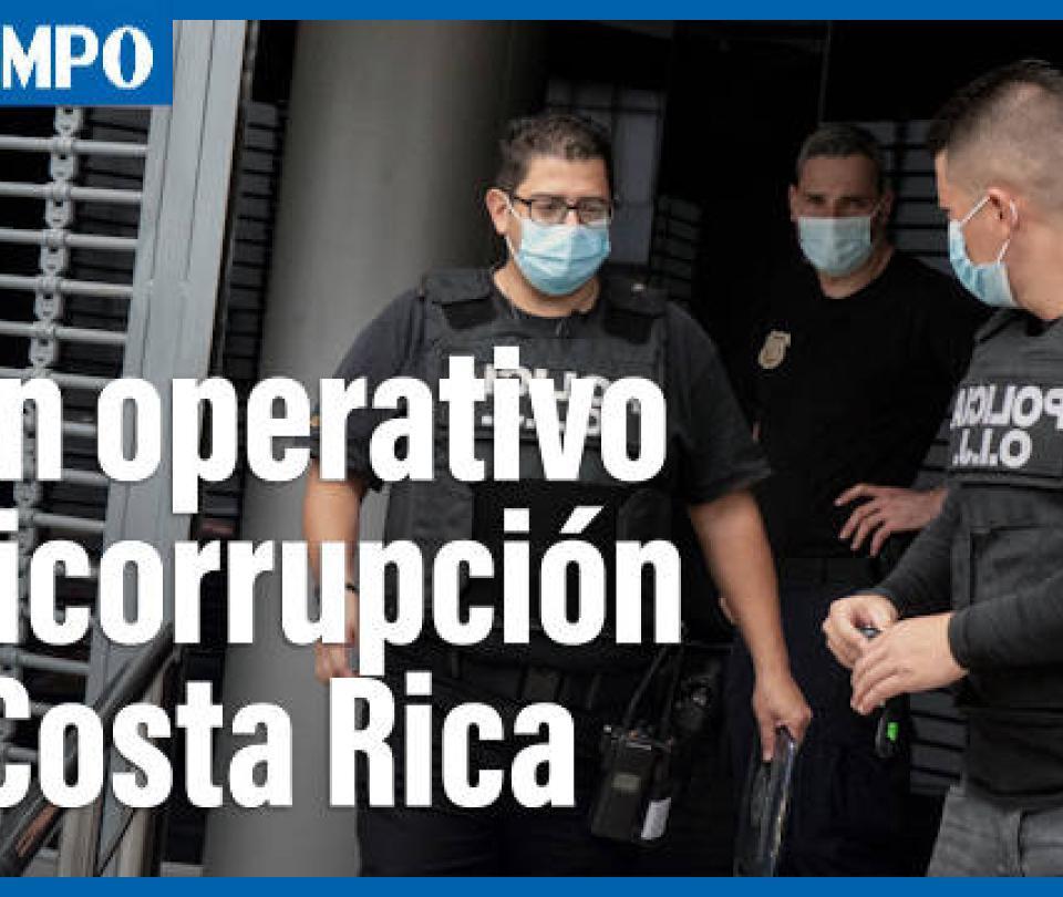 Allanan Casa Presidencial de Costa Rica y detienen operación anticorrupción