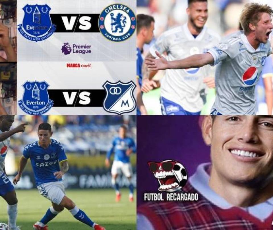 Memes del partido del Everton contra Millonarios en la Florida Cup