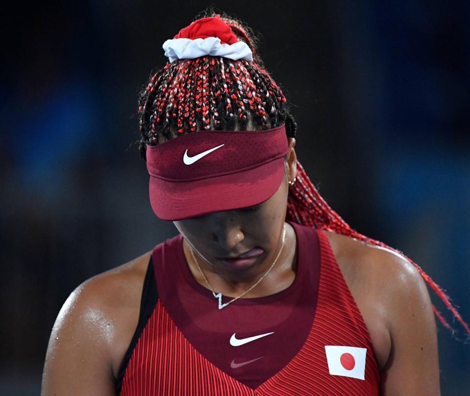 Naomi Osaka, eliminada en el tenis de los Juegos Olímpicos