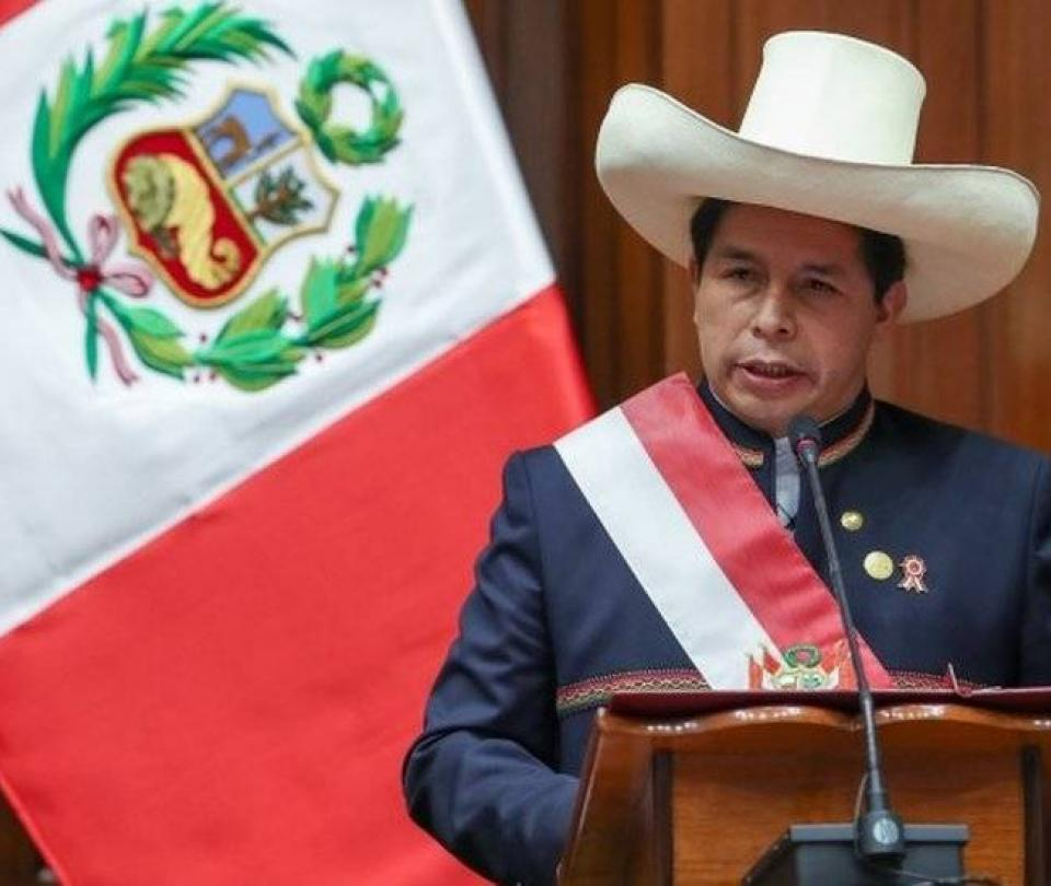 Pedro Castillo: es la primera vez que Perú será gobernado por un campesino