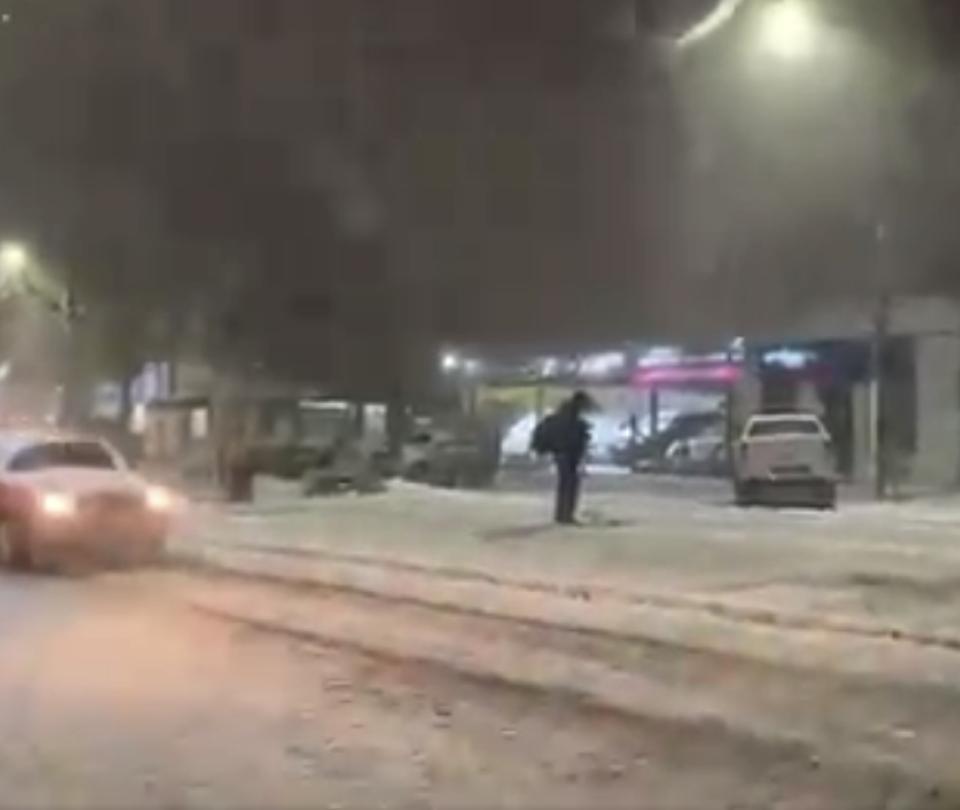 Inéditas nevadas en Brasil: tormentas cubren varias ciudades del sur