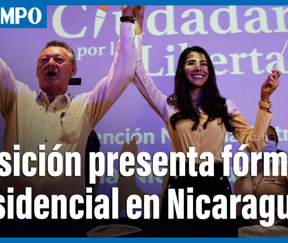Oposición en Nicaragua nombra exguerrillero como candidato presidencial