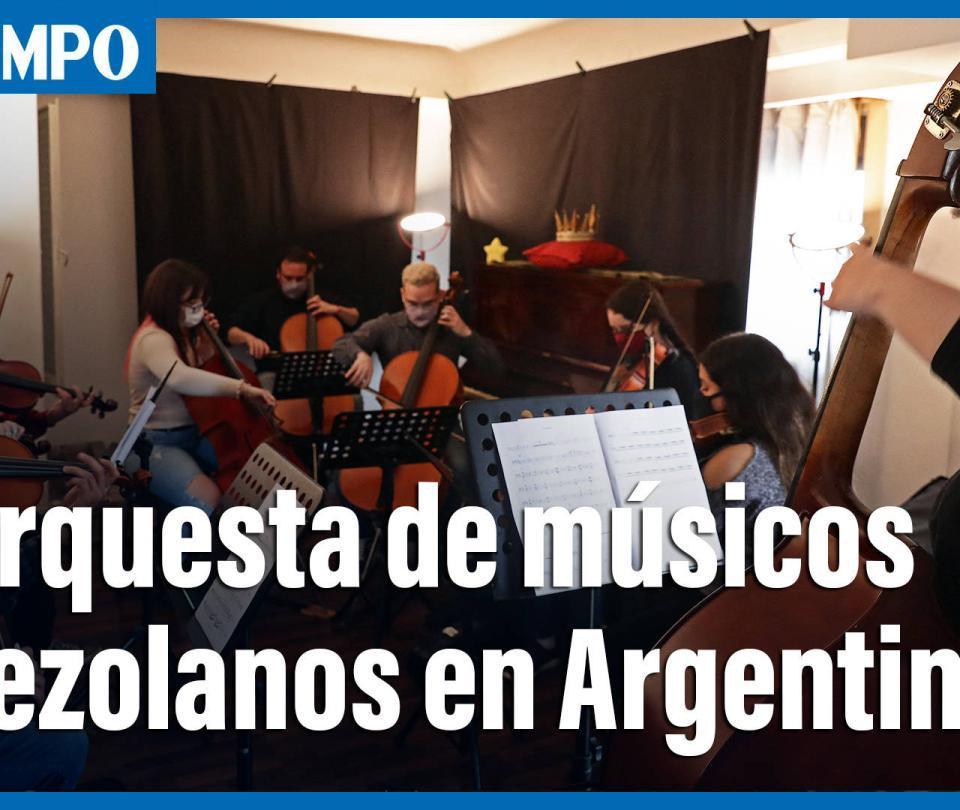 Latin Vox: la orquesta que refugió a los músicos venezolanos en Argentina