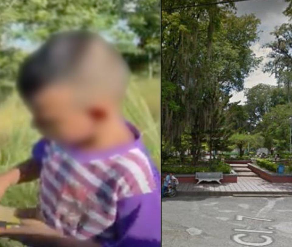 La verdad detrás del video de niño que llora por vivir en un cementerio