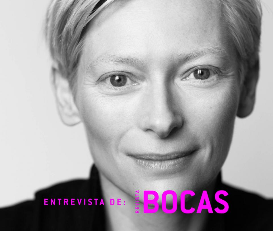 Tilda Swinton: 'Colombia era el lugar'