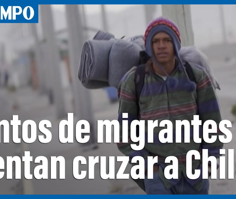 Centenares de venezolanos cruzan de Bolivia a Chile pese a la deportación