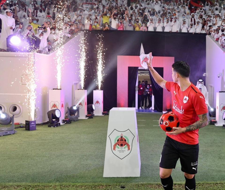 James Rodríguez se fue del Everton y no paran las críticas