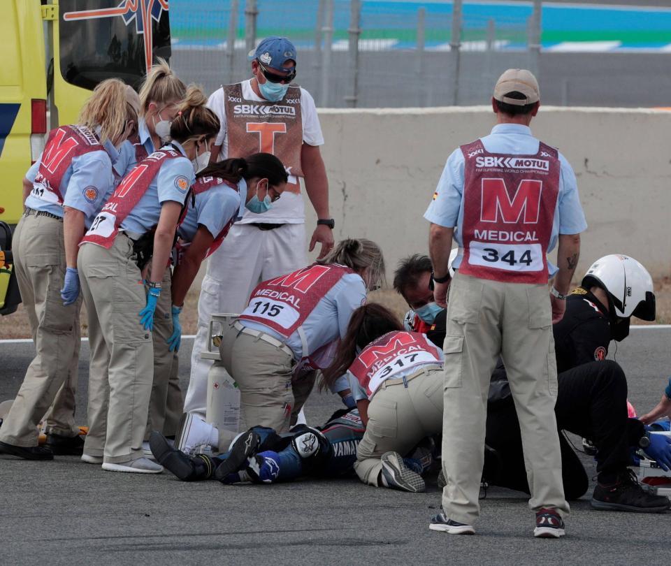 Dean Berta Viñales murió en el Mundial de Superbike