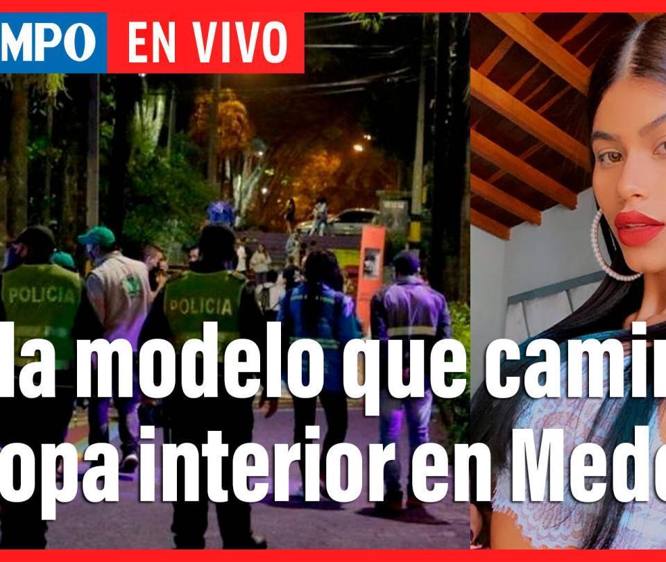 En vivo: Modelo que caminó en ropa interior en Medellín habla con EL TIEMPO