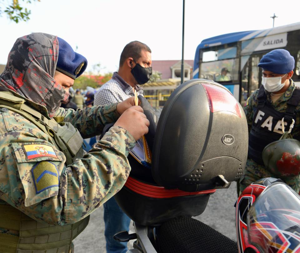 Las razones que llevaron al estado de excepción en Ecuador