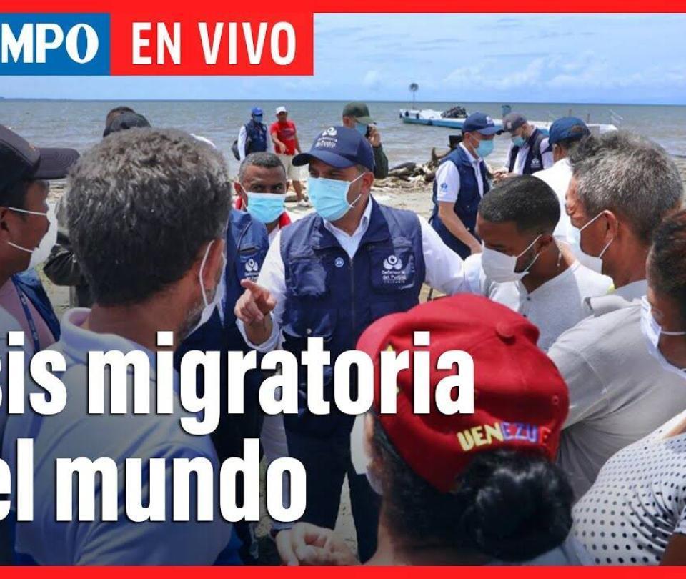 En vivo: Defensores del pueblo del mundo hablan sobre crisis migratoria