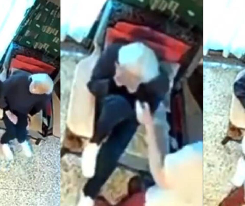 Video retrató la agresión de una mujer a anciana de 100 años que cuidaba