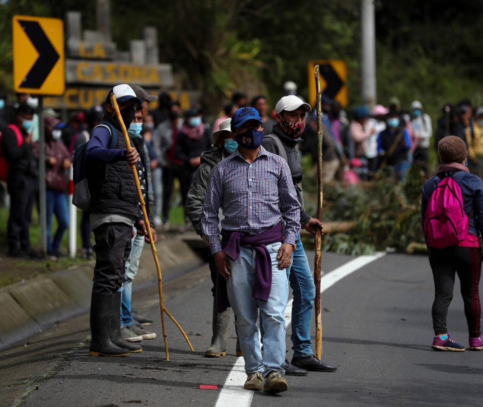 Guillermo Lasso logra sortear primera protesta en su contra en Ecuador