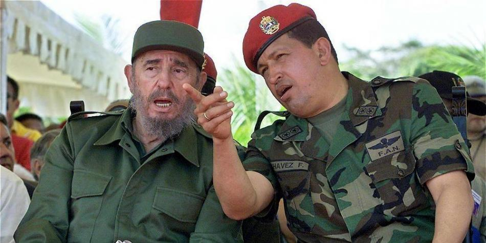 Fidel y los personajes del mundo