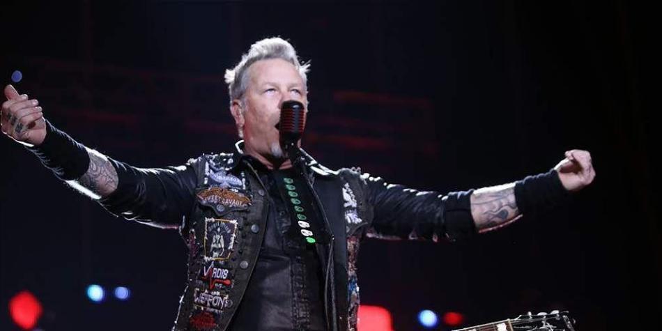 Las mejores imágenes del concierto de Metallica en Bogotá