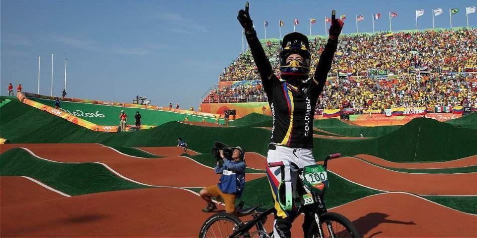 Mariana Pajón, oro en la Copa Mundo de BMX de Bélgica