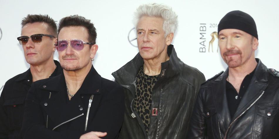 Concierto de U2 en Bogotá en octubre