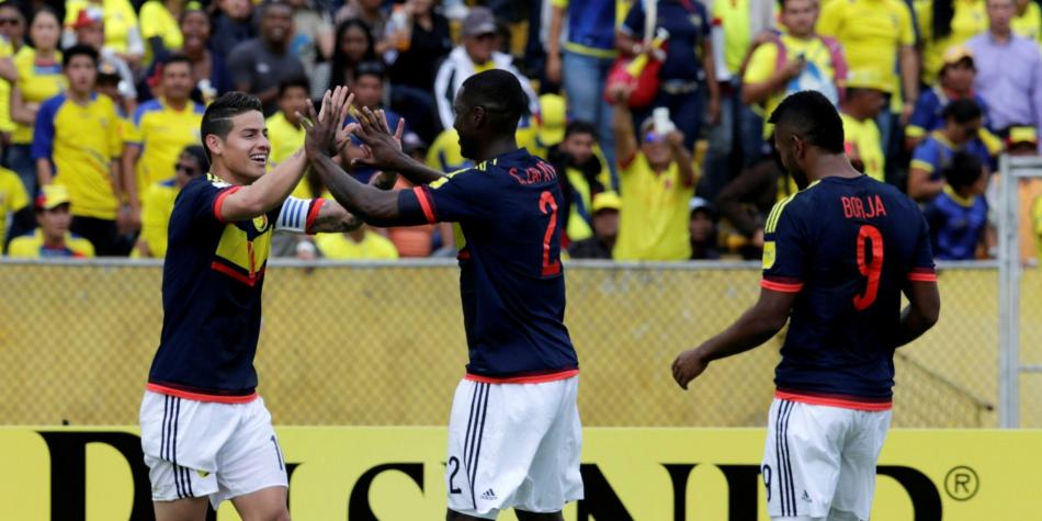 La Selección Colombia estuvo a la altura: derrotó 0-2 a Ecuador