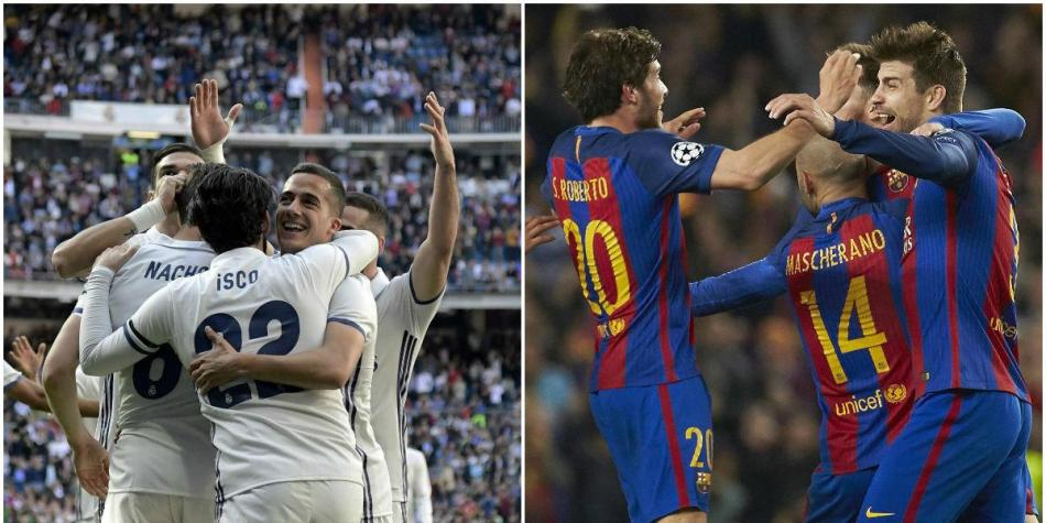 Real Madrid y Barcelona
