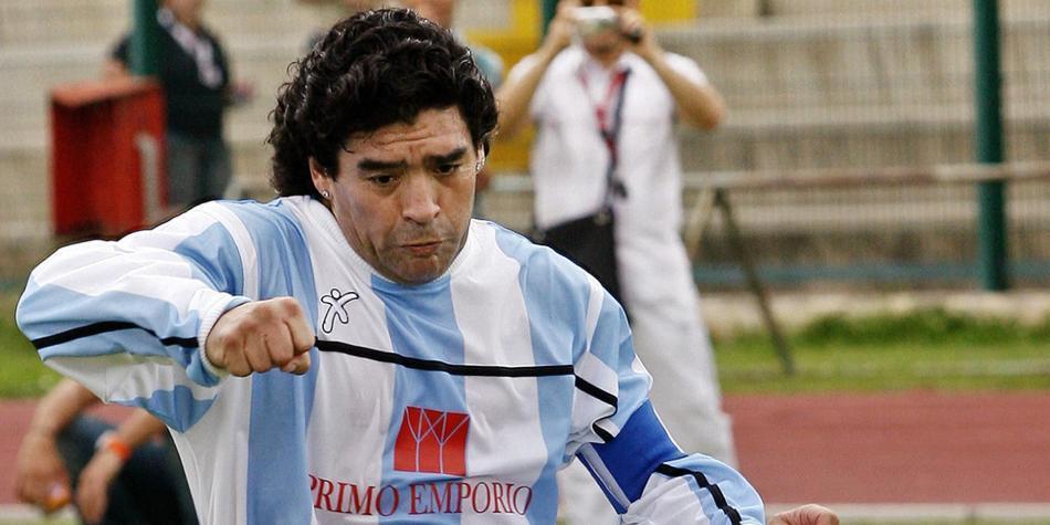 db5e6448366cb La historia de Maradona en el Nápoles - Fútbol Internacional ...