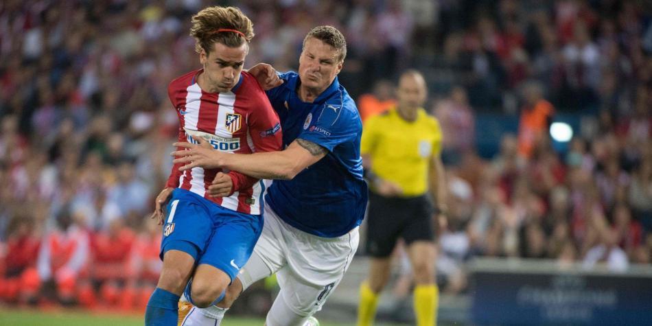 Atlético, a defender su ventaja sobre Leicester para avanzar a 'semis'