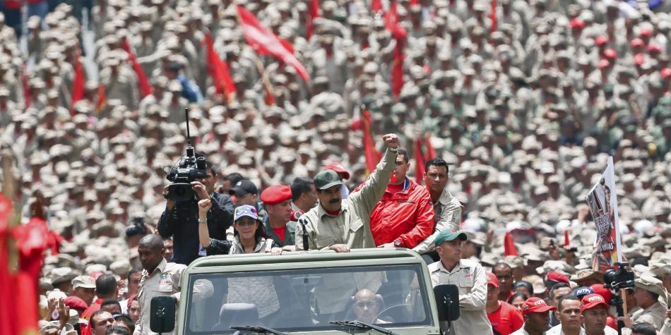 Van 7 muertos y 538 detenidos en marchas de opositores en Venezuela