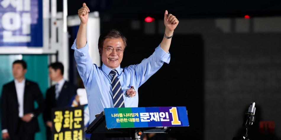 Abren los colegios electorales en Corea del Sur para las presidenciales