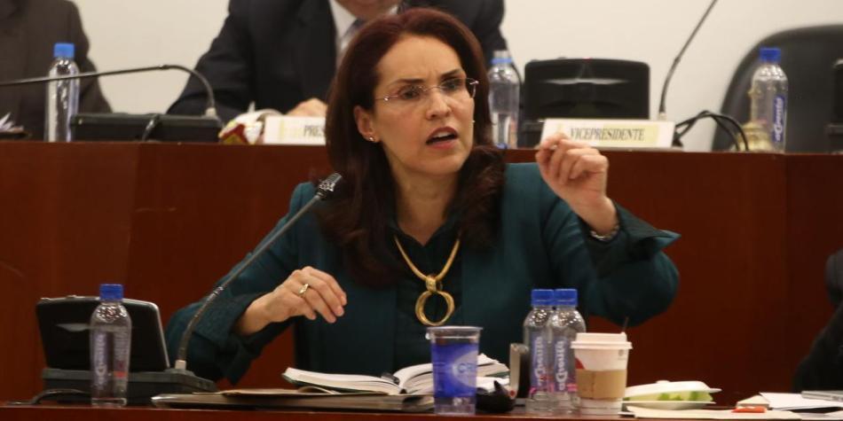 Viviane Morales oficializa su aspiración a la Presidencia de la República