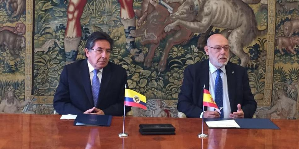 España y Colombia firman convenio para investigar 'Caso Lezo'