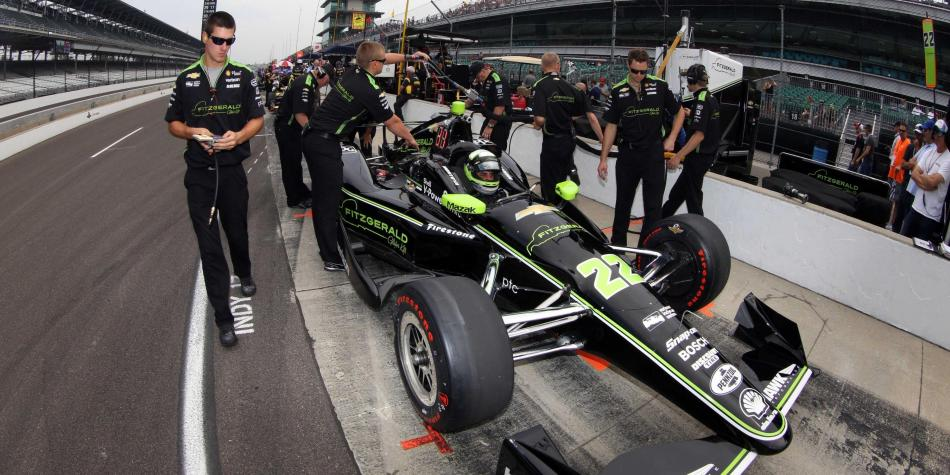 Mal tiempo retrasa la sesión de clasificación en Indianápolis