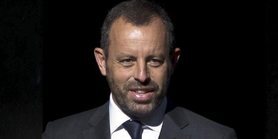 Expresidente del Barcelona, Sandro Rosell, detenido