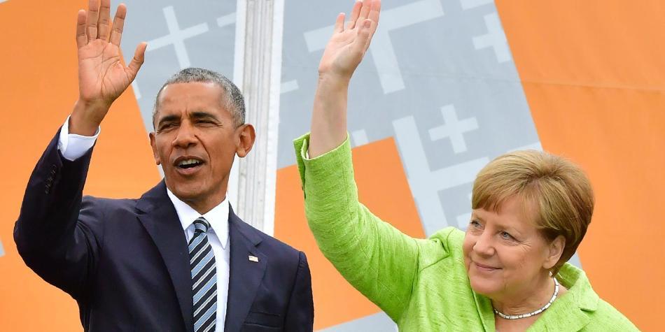 Obama es recibido como estrella de rock en Berlín