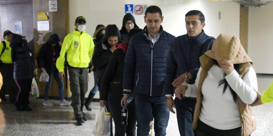 Capturas por fraude millonario a colpensiones for Juzgados de paloquemao