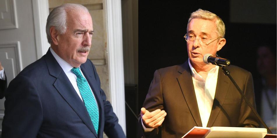 Andrés Pastrana y Álvaro Uribe