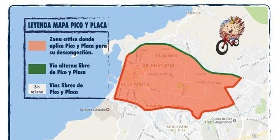Aumenta el Pico y Placa desde este cuatro de julio en Cali