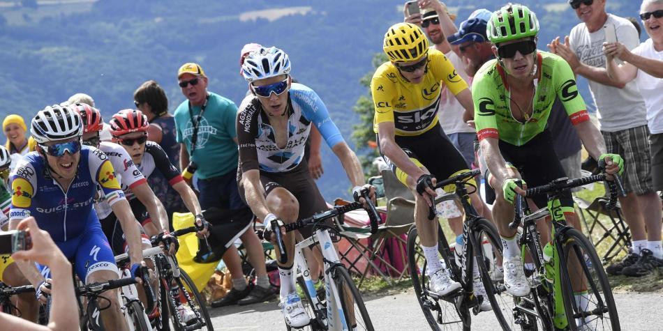 Froome a un paso del título del Tour de Francia